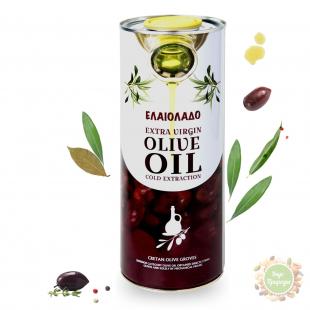 Масло оливковое Extra Vergine 1 л.(Греция)